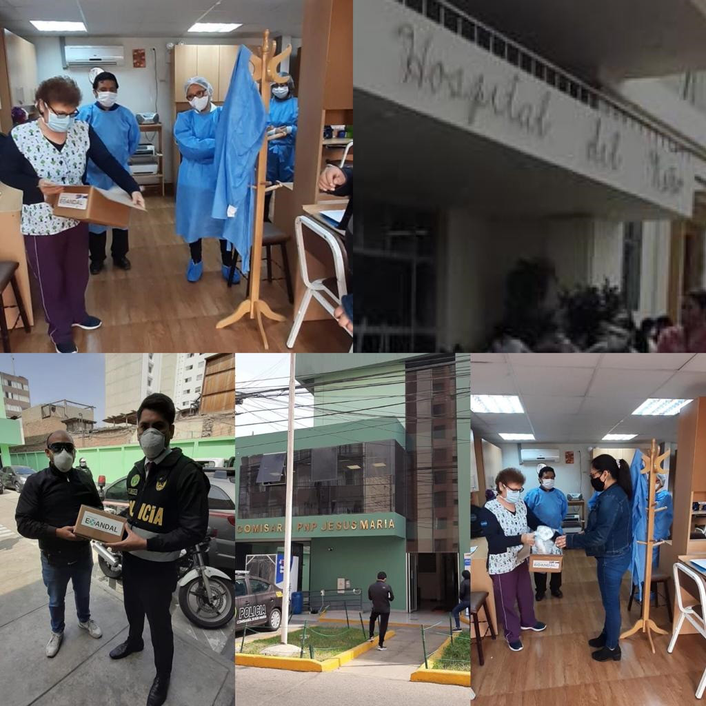 Exandal Donates Masks to Local Hospitals and Police Departments